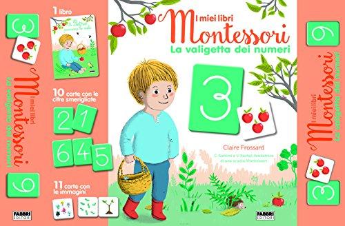 9788891580177: La valigetta dei numeri. I miei libri Montessori. Con 21 Carte