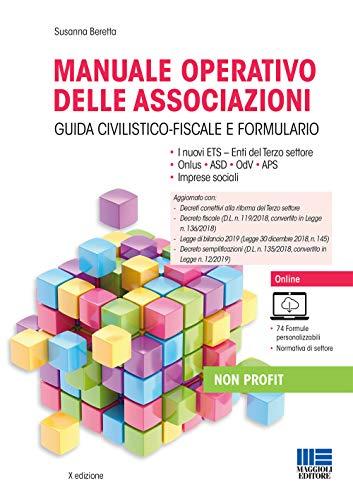 9788891631374: Manuale operativo delle associazioni. Con aggiornamento online