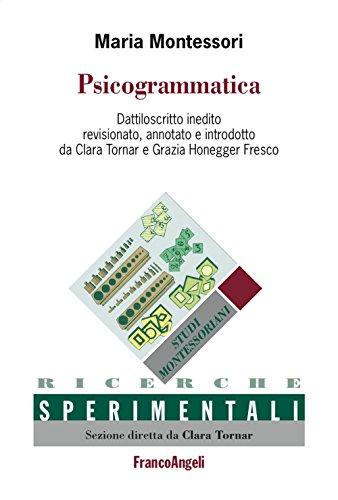 9788891741080: Psicogrammatica. Dattiloscritto inedito (Ricerche sperimentali-Monografie educaz.)