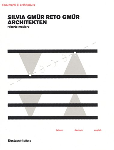 9788891805584: Silvia Gmür Reto Gmür Architekten. Ediz. italiana, inglese e tedesca