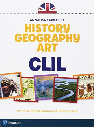9788891903150: CLIL history geography art. Per la Scuola media.
