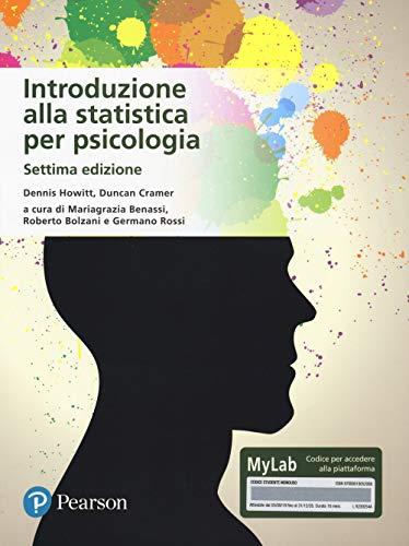 9788891905208: Introduzione alla statistica per psicologia. Ediz. MyLab. Con Contenuto digitale per download e accesso on line