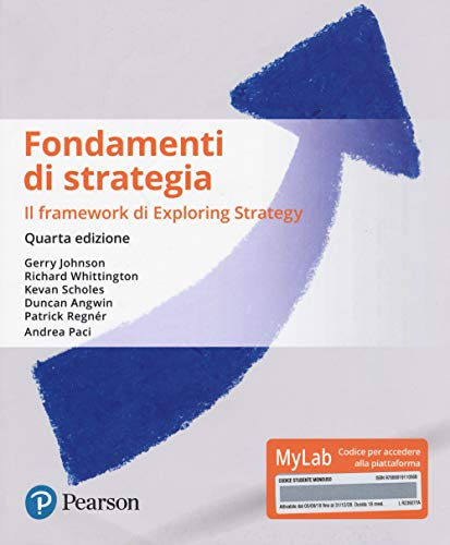 9788891911056: Fondamenti di strategia. Ediz. Mylab. Con Contenuto digitale per download e accesso on line