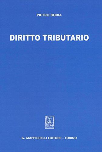 Diritto tributario: Pietro Boria
