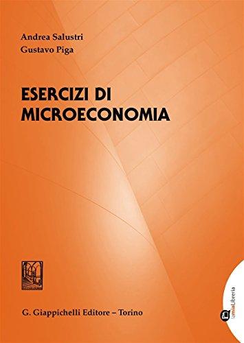 9788892102712: Esercizi di microeconomia