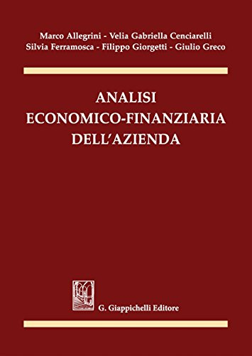 9788892108455: Analisi economico-finanziaria dell'azienda