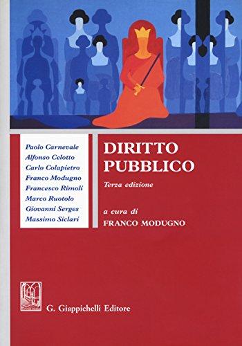 Diritto pubblico: Modugno, F.