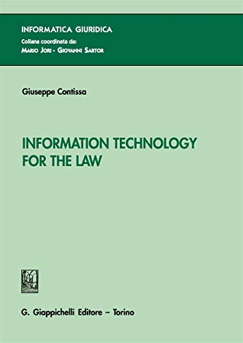 9788892112339: Information technology for the law [Lingua inglese]