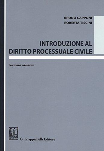 9788892113558: Introduzione al diritto processuale civile