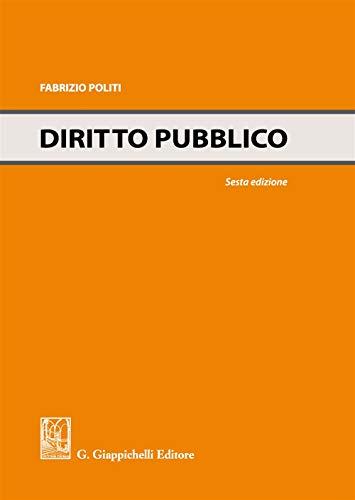 Diritto pubblico: Fabrizio Politi
