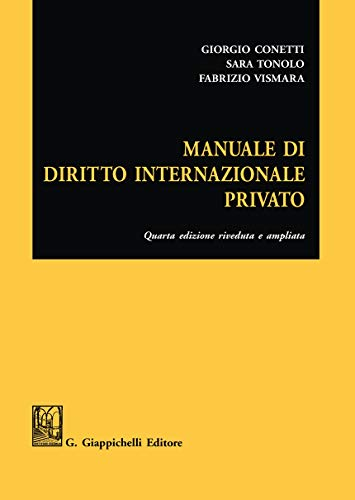 9788892135598: Manuale di diritto internazionale privato