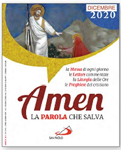 9788892220362: Amen. La parola che salva. Dicembre (2020) (Vol. 12)