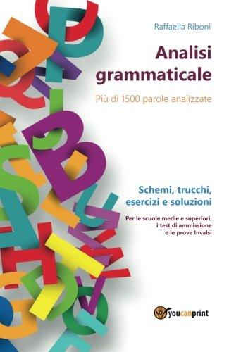 9788892620230: Analisi grammaticale