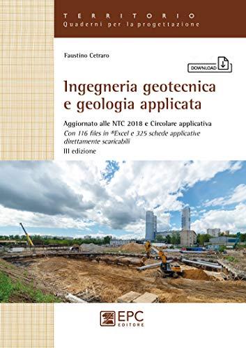 9788892880351: Ingegneria geotecnica e geologia applicata