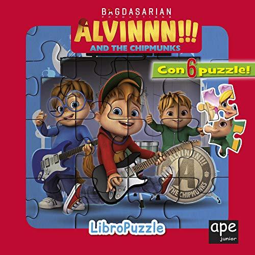 9788893095464: Alvinnn!!! and the Chipmunks. Libro puzzle. Ediz. a colori