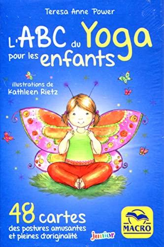 9788893192842: Coffet l'ABC du yoga pour les enfants: 48 cartes des postures amusantes et pleines d'originalité