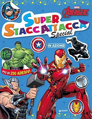 9788893290951: Marvel Avengers. In azione! Superstaccattacca special. Con adesivi. Ediz. a colori