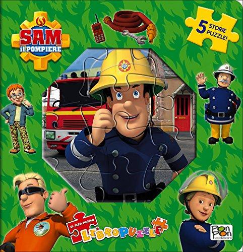 9788893300445 Il Mio Primo Libro Puzzle Sam Il Pompiere