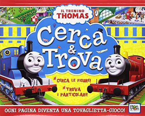 9788893300735: Cerca e trova. Il trenino Thomas. Ediz. a colori