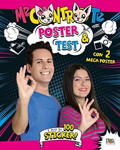 9788893301244: Poster & test. Con adesivi. Con 2 Poster