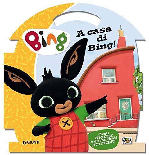 9788893301954: A casa di Bing! Bing. Con adesivi. Ediz. illustrata