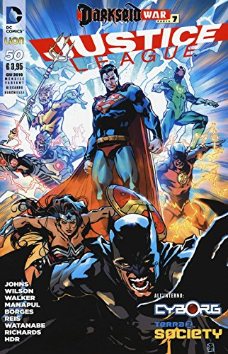 9788893510196: Justice League. Variant special: 50