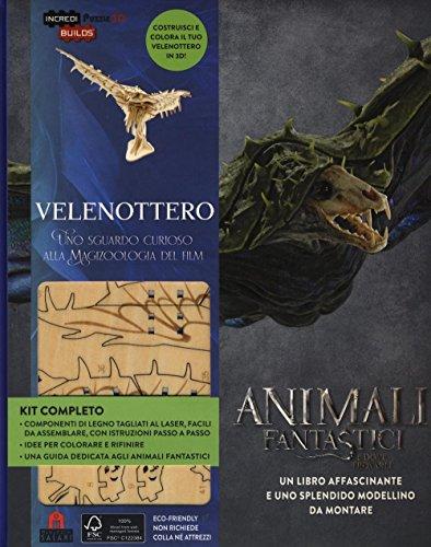 9788893670081: Velenottero. Animali fantastici e dove trovarli. Uno sguardo curioso alla magizoologia del film. Ediz. a colori. Con gadget