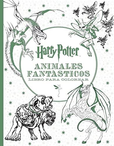 HARRY POTTER-ANIMALES FANTÁSTICOS LIBRO PARA COLOREAR (Paperback ...