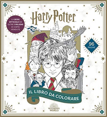9788893679091: Harry Potter. Il libro da colorare