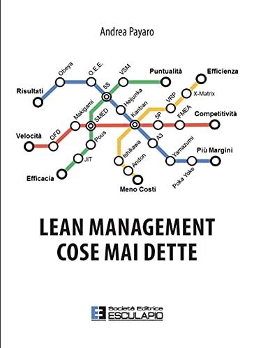 9788893850117: Lean management. Cose mai dette