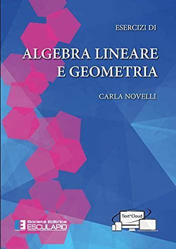 9788893851015: Esercizi di algebra lineare e geometria