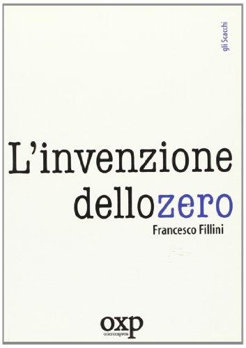 9788895007045: L'invenzione dello zero