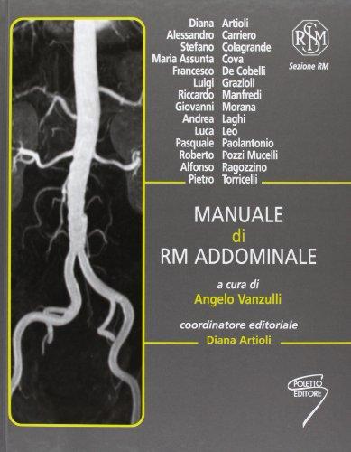 9788895033167: Manuale di RM addominale