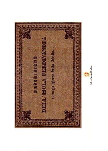 9788895310244: Descrizione dell'isola Ferdinandea a mezzogiorno della Sicilia