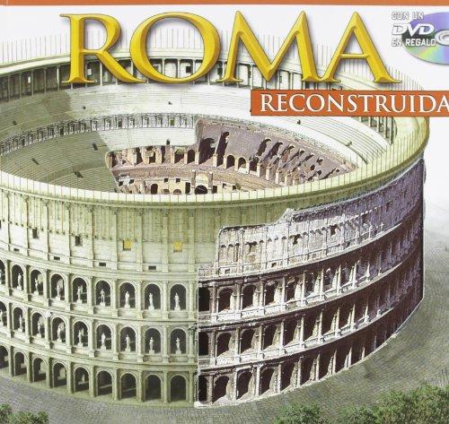 9788895512143: Roma ricostruita maxi. Con DVD. Ediz. spagnola
