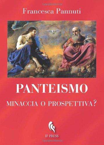 9788895565378: Panteismo: minaccia o prospettiva? (Italian Edition)