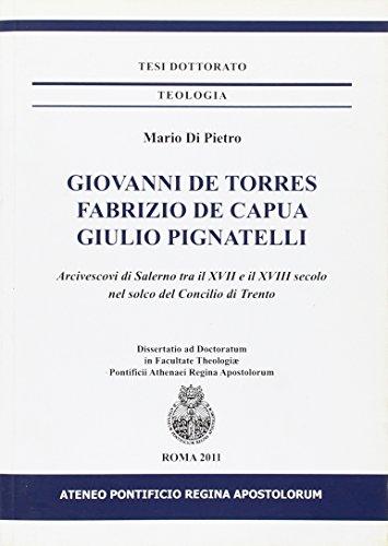 Giovanni De Torres, Fabrizio De Capua, Giulio: Mario Di Pietro