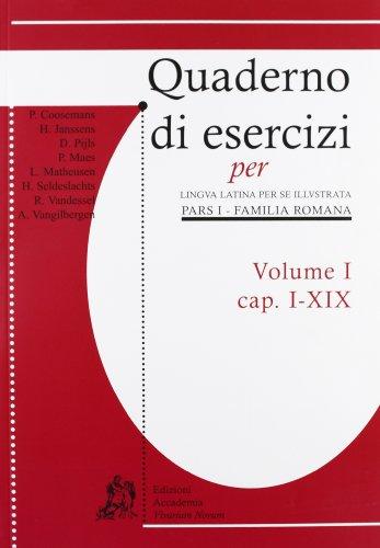 9788895611037: Quaderni di esercizi per lingua latina per illustrata. Per i Licei e gli Ist. magistrali: 1