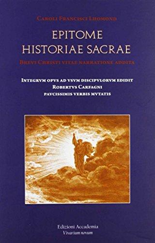 Epitome historiae sacrae: Lhomond, Charles F.