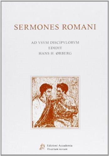 9788895611273: Sermones Romaní