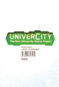 9788895623269: Univercity: the eco_univercity Genua project