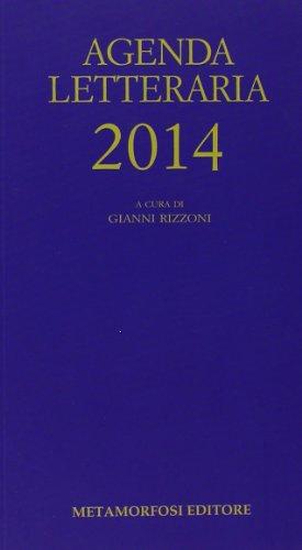 9788895630632: Agenda letteraria 2014