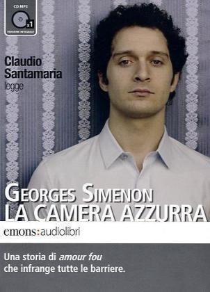 9788895703107: La camera azzurra letto da Claudio Santamaria. Audiolibro. CD Audio formato MP3