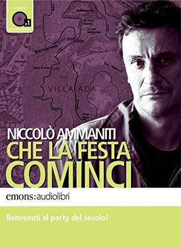 9788895703299: Che la festa cominci letto da Giorgio Tirabassi. Audiolibro. CD Audio formato MP3