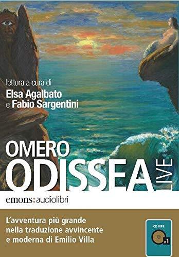 9788895703343: Odissea letta da Elsa Agalbato e Fabio Sargentini. Audiolibro. CD Audio formato MP3