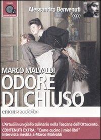 9788895703565: Odore di chiuso letto da Alessandro Benvenuti. Audiolibro. CD Audio formato MP3. Ediz. integrale