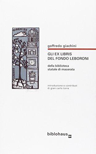 Gli exlibris del fondo Leboroni della Biblioteca: Goffredo Giachini, G.