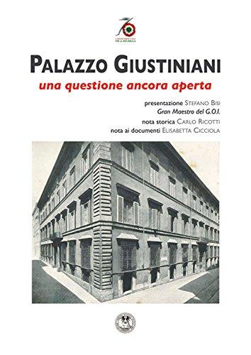 9788895988795: Palazzo Giustiniani. Una questione ancora aperta