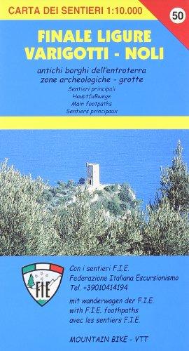 9788896107300: SV 50 Finale Ligure, Varigotti, Noli