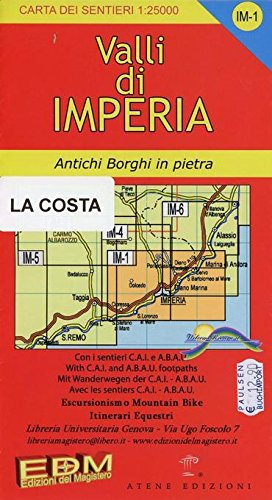 9788896107317: IM 1 Cervo, San Bartolomeo, Diano Marina, Imperia